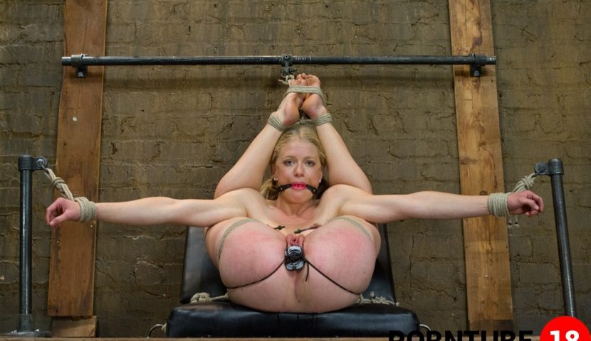 Stretching her bdsm limits